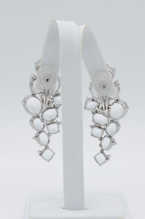 Fine Jewelry Cascade Cluster Earrings