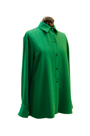 Emmelle Luxurious Crepe Button Down Top