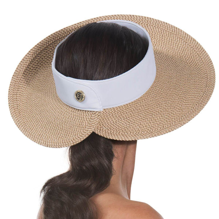 Eric Javits Squishee Visor Hat - available in two colors