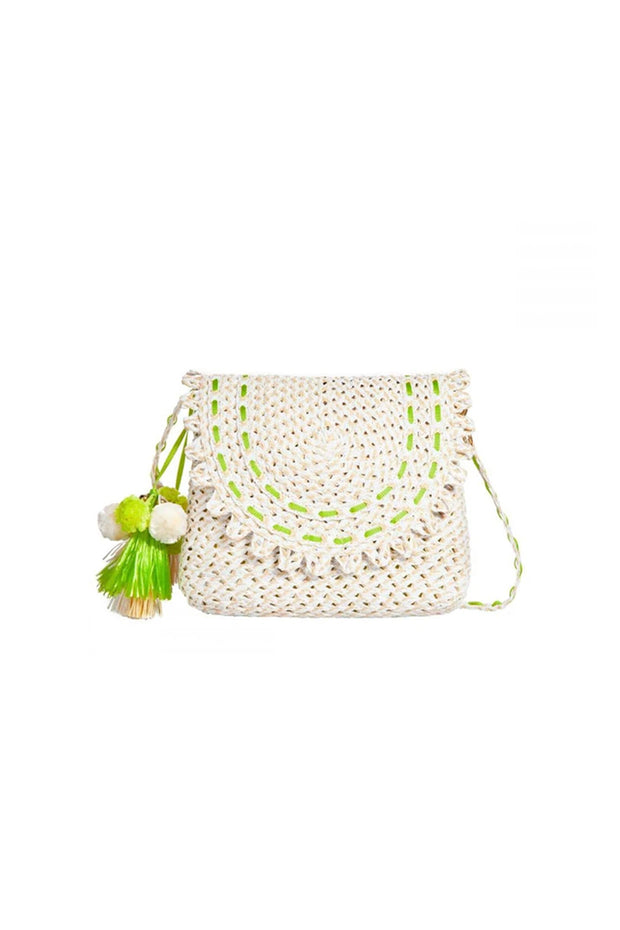 Eric Javits Brigitte Bag in White