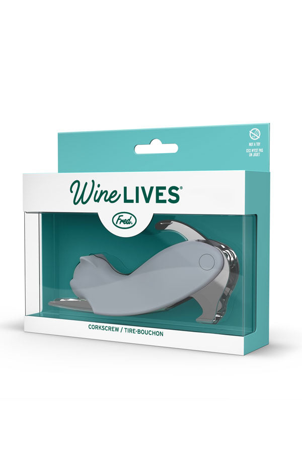Wine Lives Cat Corkscrew
