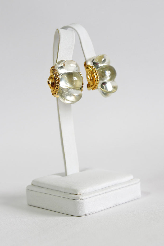 Kenneth Jay Lane Shrimp Clip Earring- available in many colors