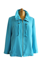Mildred Hoit Drawstring Collar Jacket - available in multiple colors!