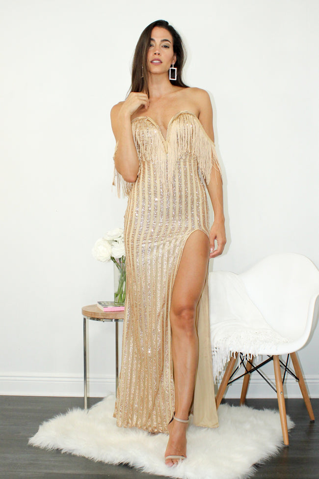 Life is a Party Tassel Dress