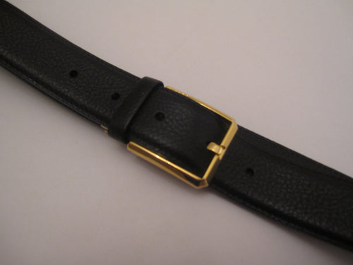 Fine Grained Leather Belt