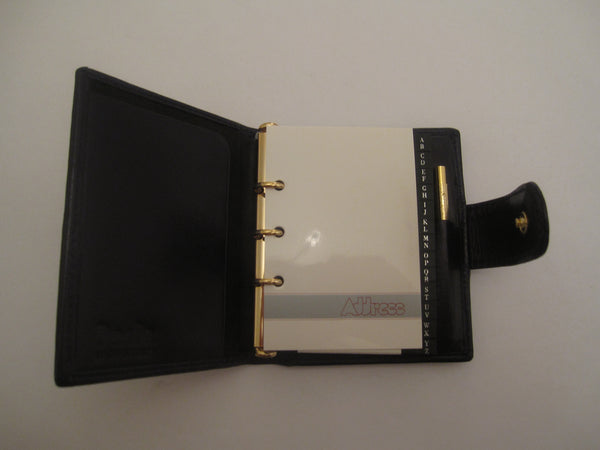Leather Address Book