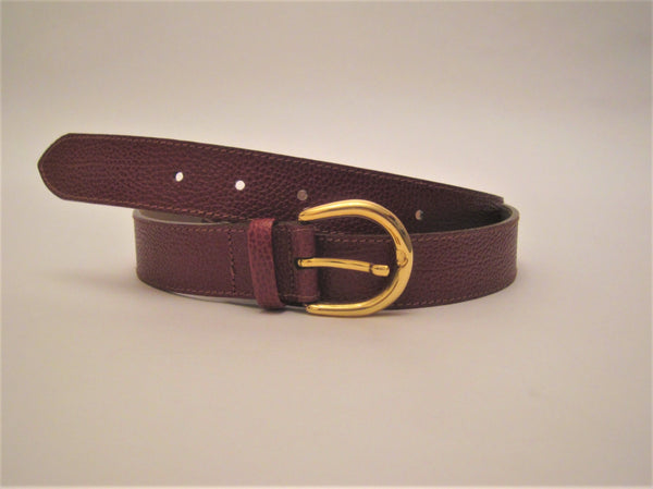 Men Luxury Leather Belt