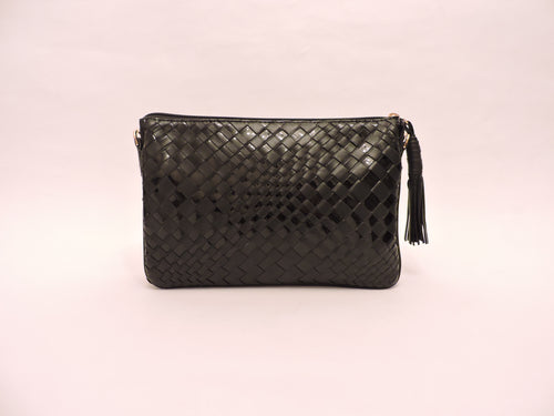 Small Nappa Leather Clutch Bag