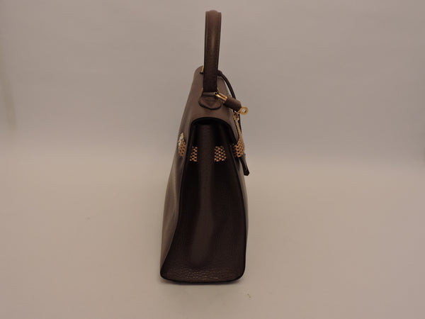 Single Handle Leather Tote