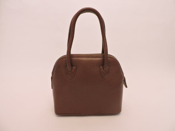 Small Double Handle Leather Tote