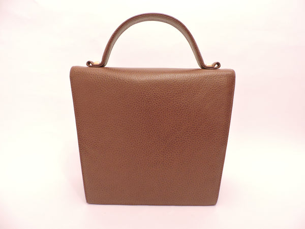 Leather Tote Bag with Shoulder Strap