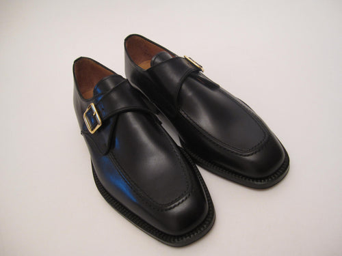 Fine Calf Single Buckle Monk Strap