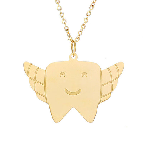 Angel Tooth Necklace