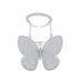 Zircon® Crystal Butterfly Statement Ring