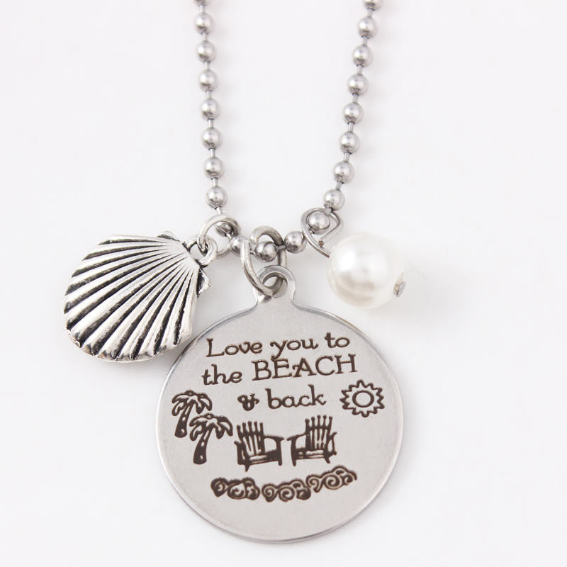 To the Beach and Back Necklace
