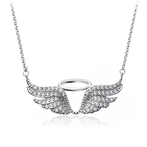 Halo Angel Wings Pendant