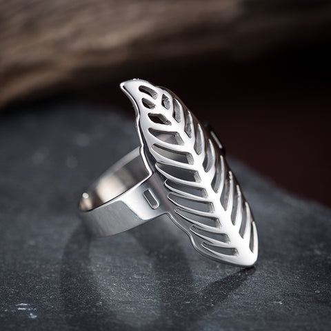 Leaf Statement Ring