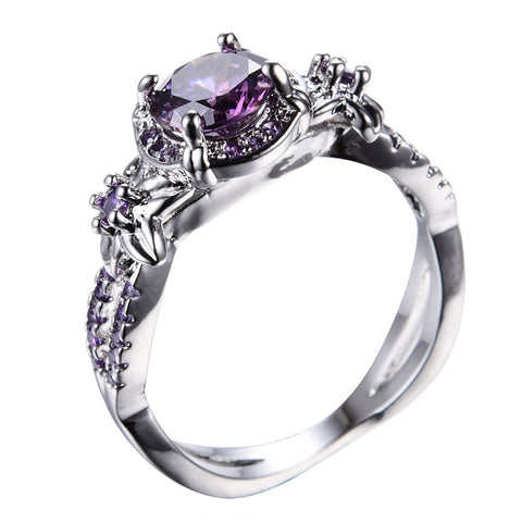 Glam Purple Ring