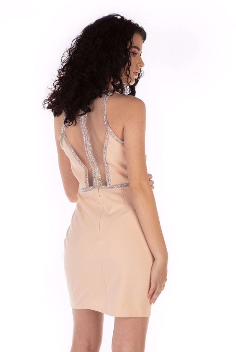 Gia Cocktail Dress With Embellishments