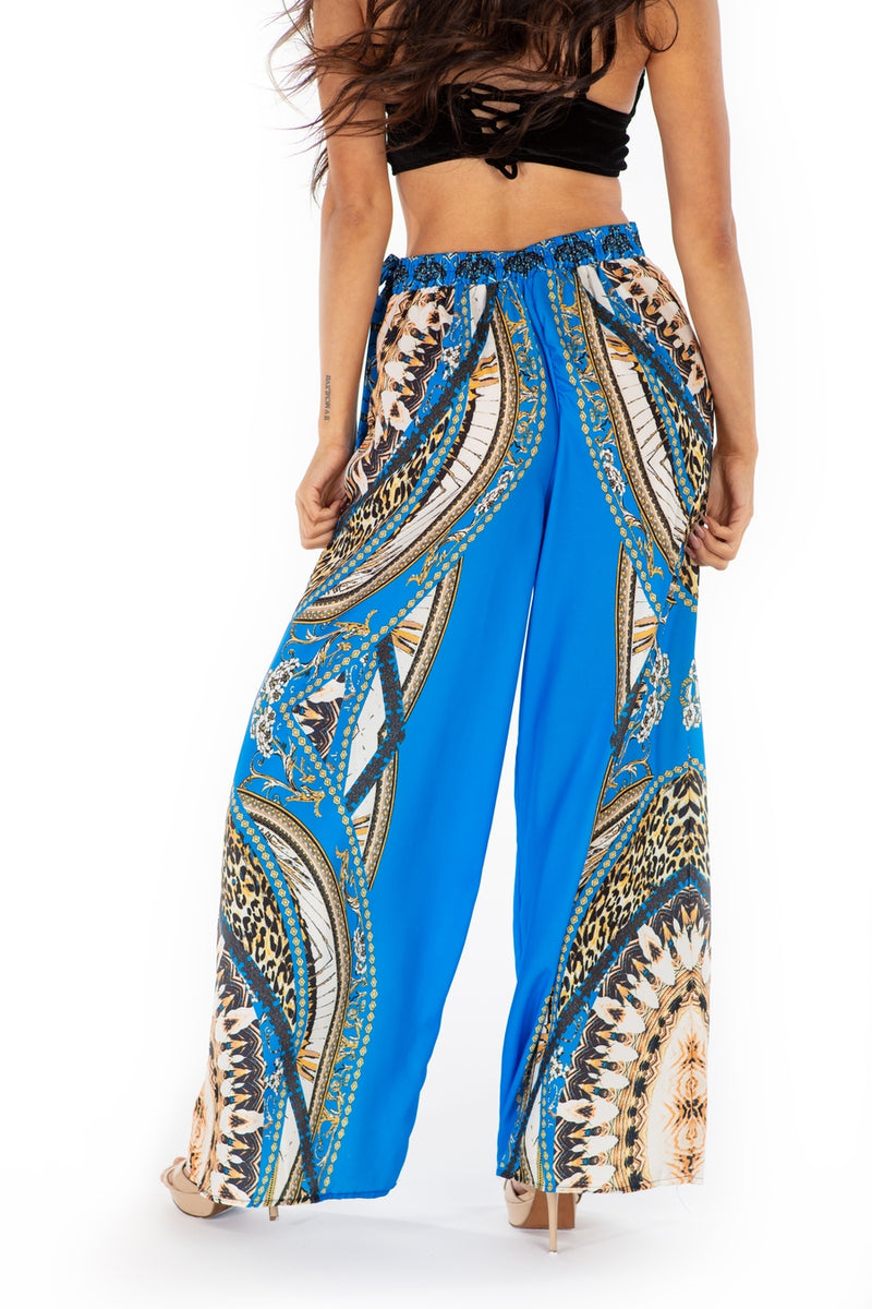 Royal Medallion Palazzo Pants