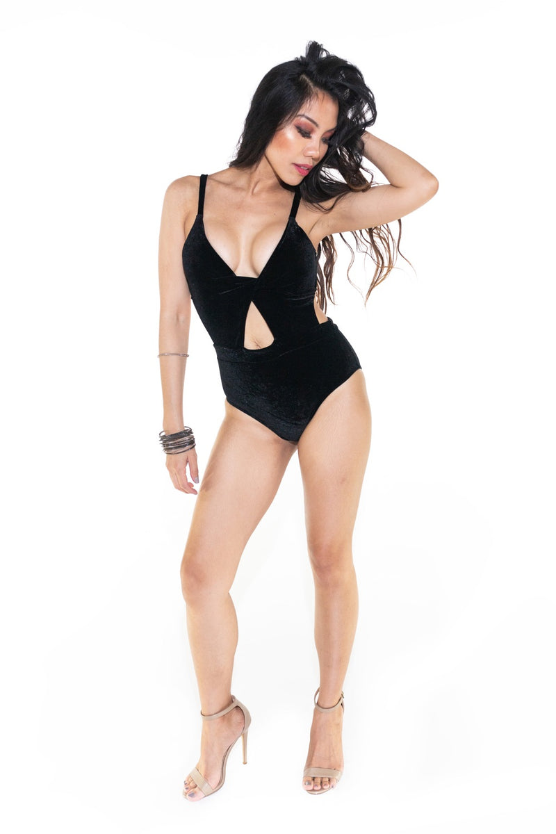 Monte Carlo High Waisted One Piece Swimsuit