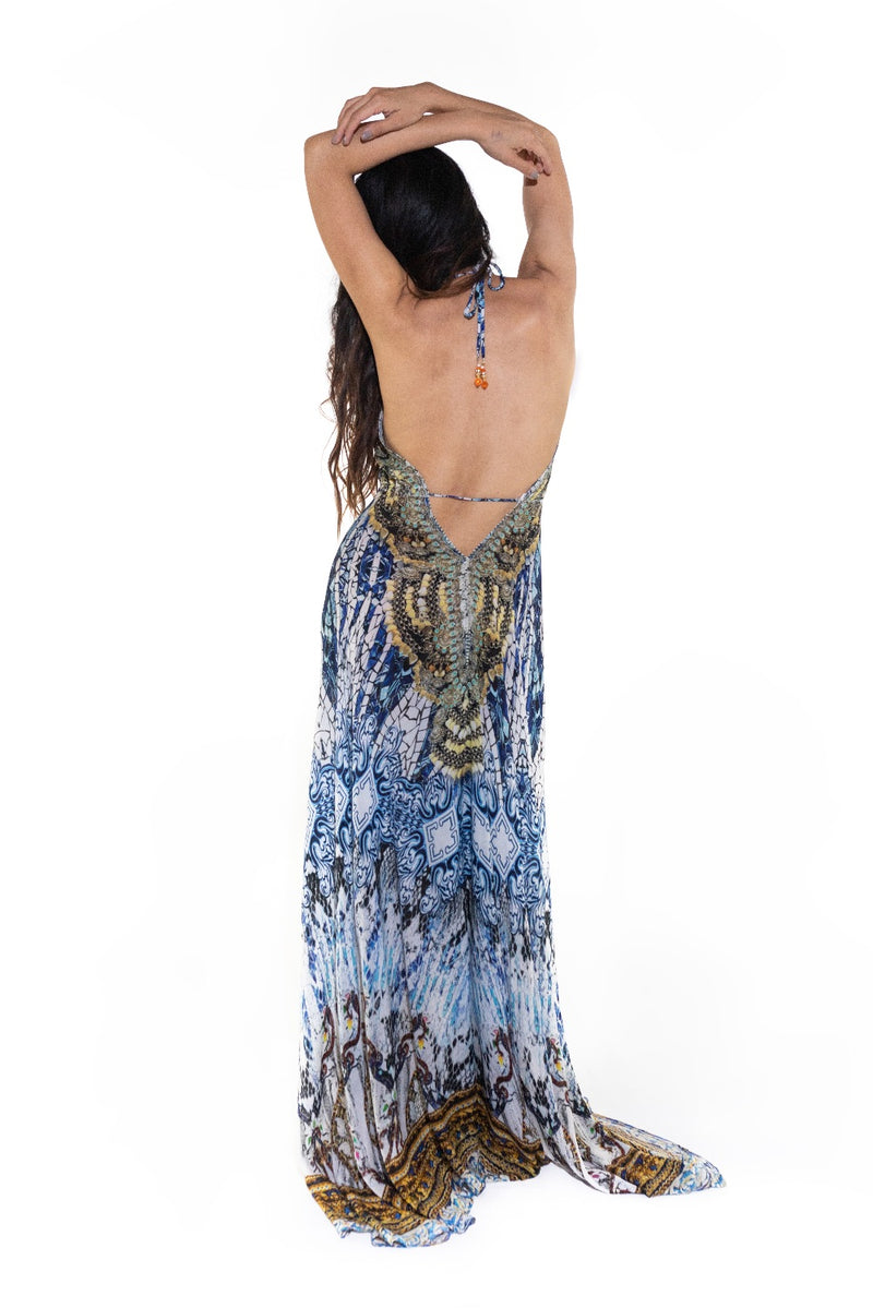 Valencia Halter Dress