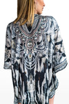 Angola Short Cover-Up Caftan Top