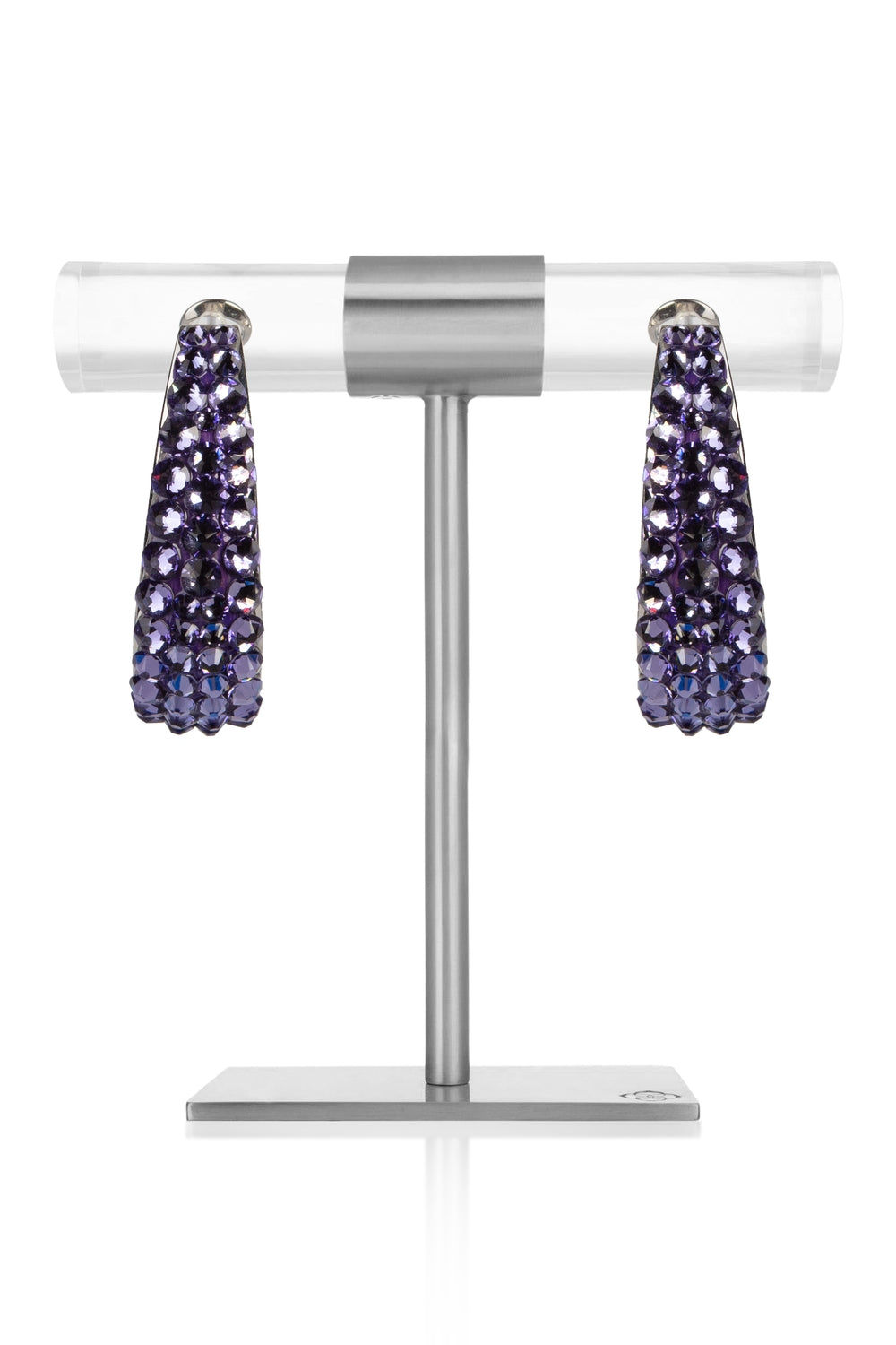 Tanzanite Crystal Earrings