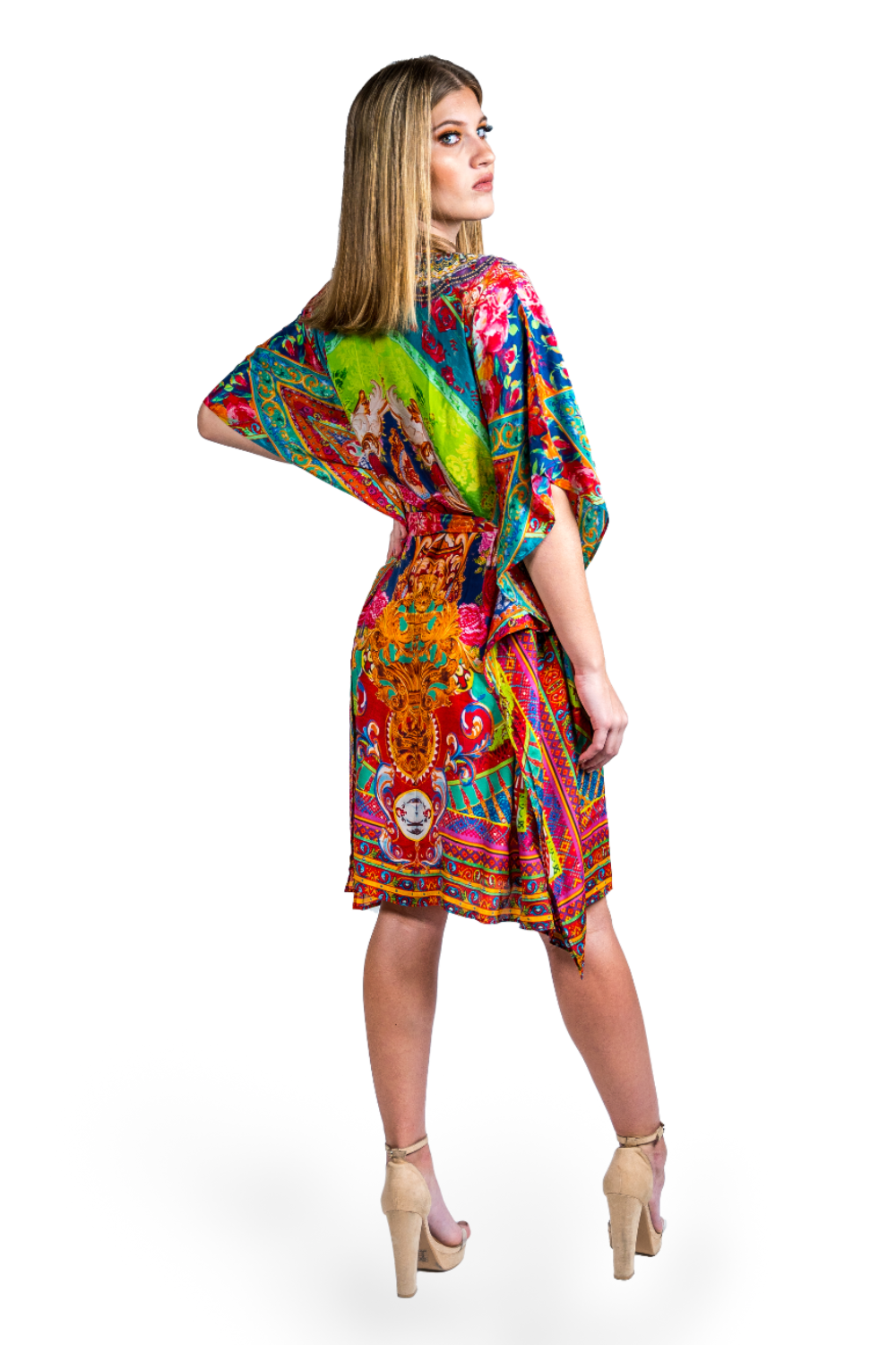 Zimbabwe Short Kaftan Dress