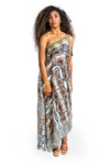 Wild in Bali High Low Dress