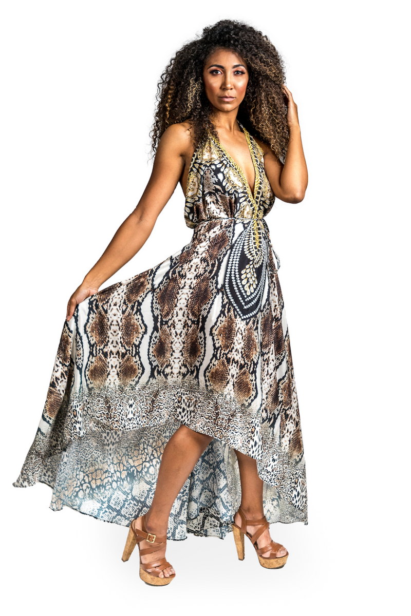 Cobra 3-Way High Low Dress