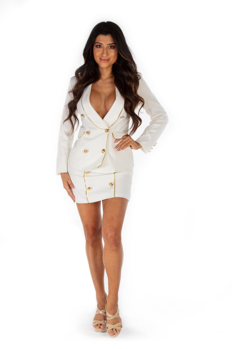 Jenny CEO Collection Skirt Suit Set