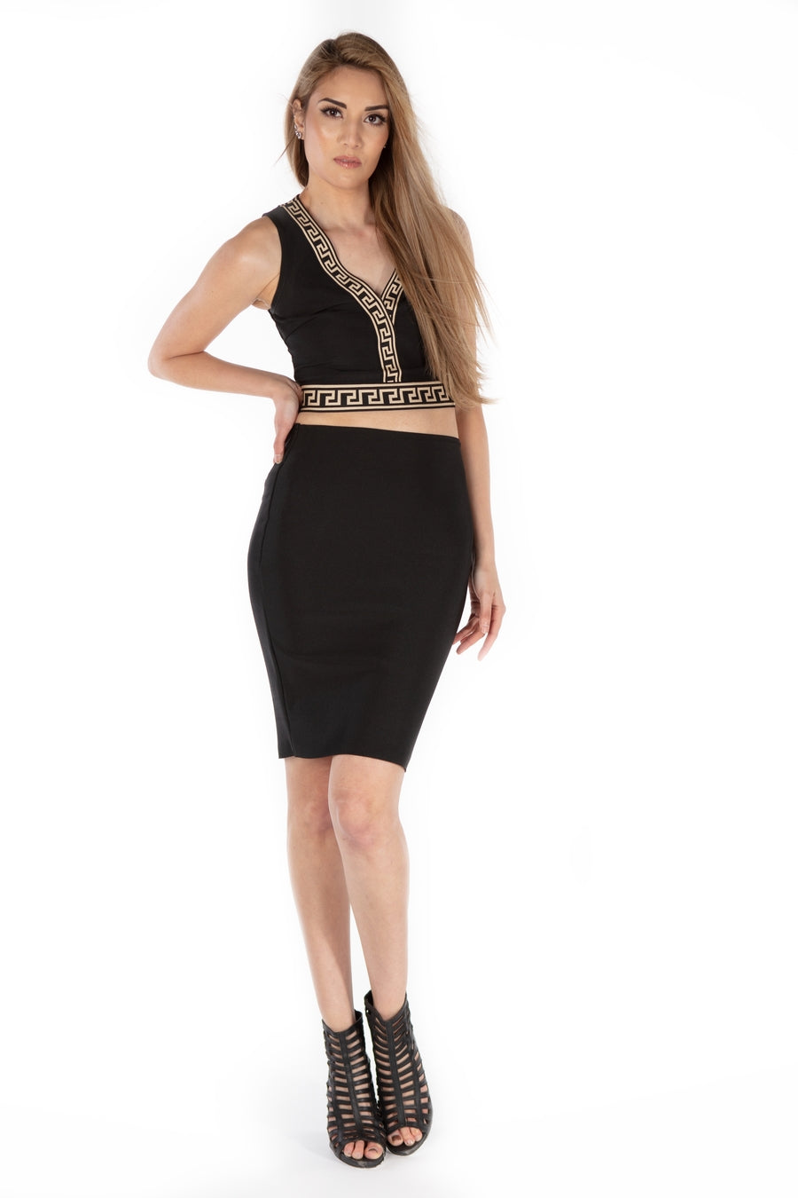 Onyx Ultimate Pencil Skirt