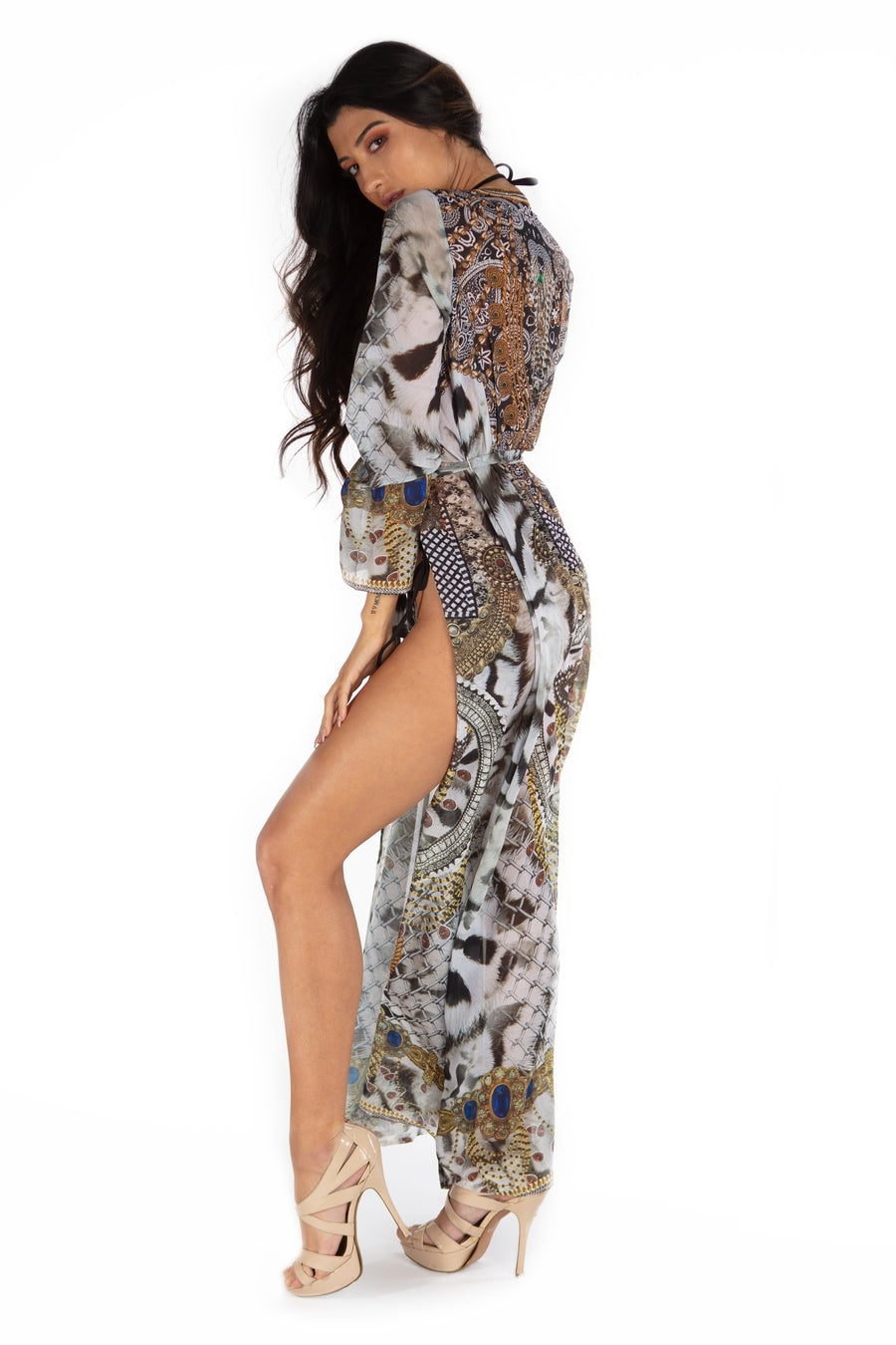 Wild in Bali Long Robe