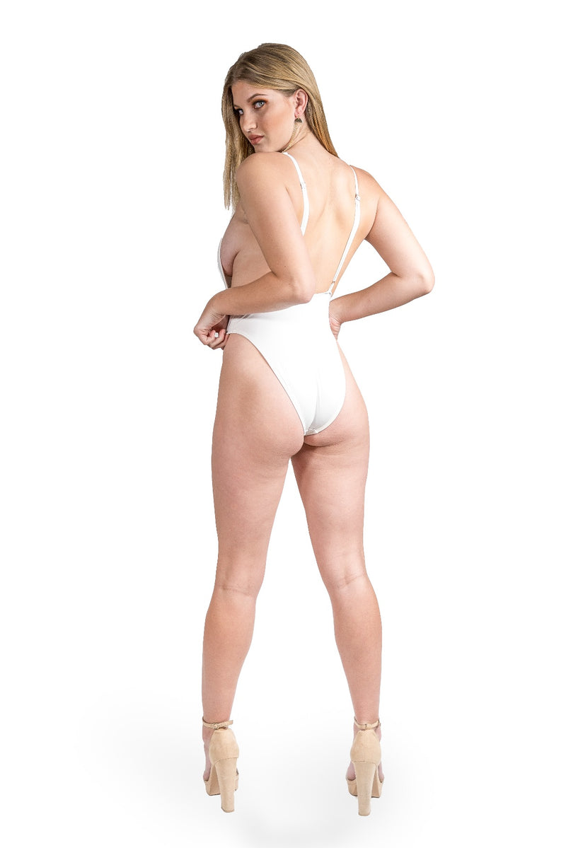 Alessandra One Piece - White