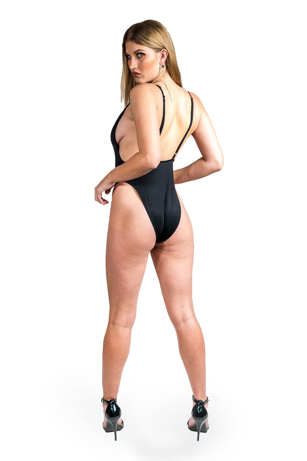Alessandra One Piece Swimsuit - Black