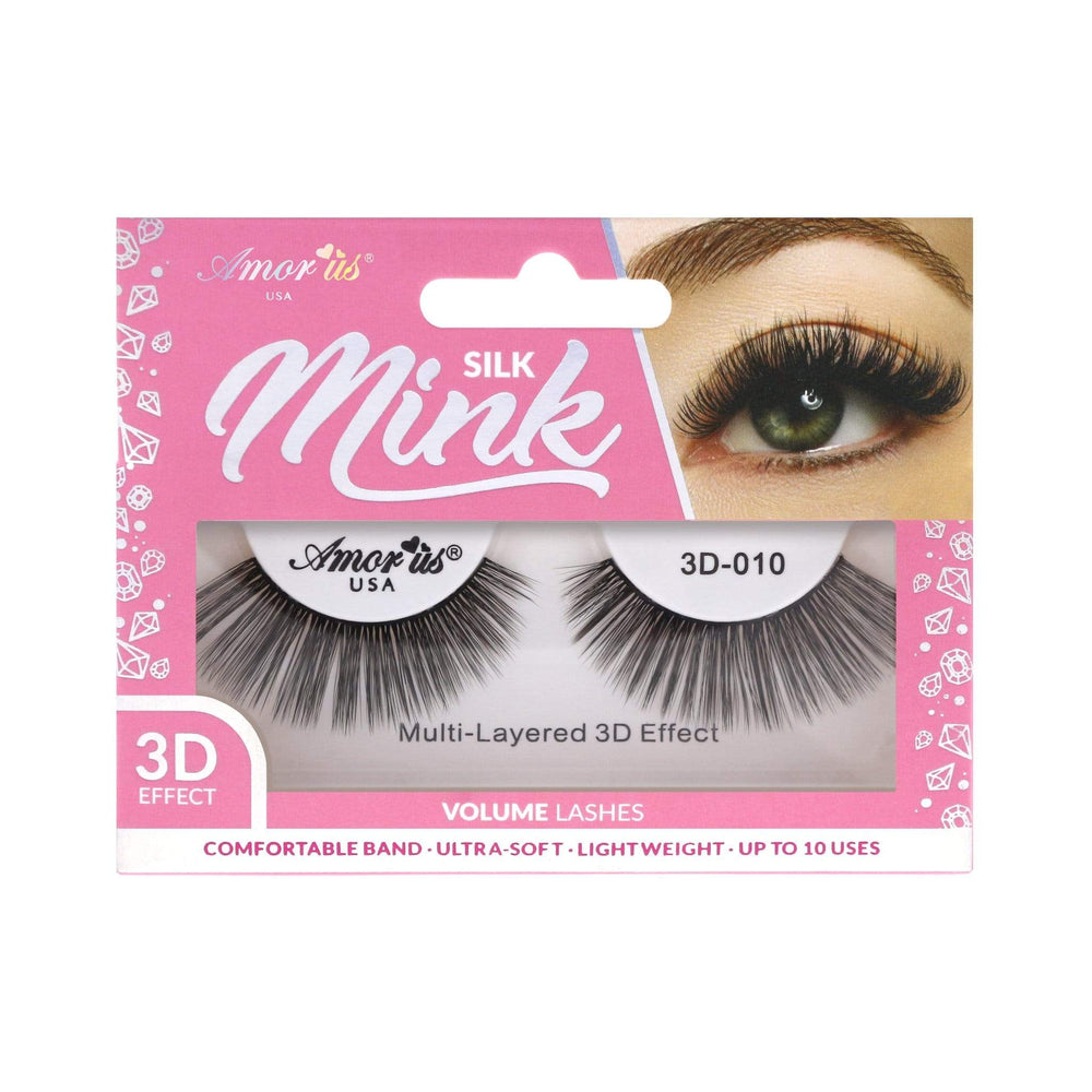 Load image into Gallery viewer, 10 - 3D Silk Mink Lashes