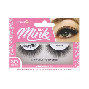 Load image into Gallery viewer, 19 - 3D Silk Mink Lashes