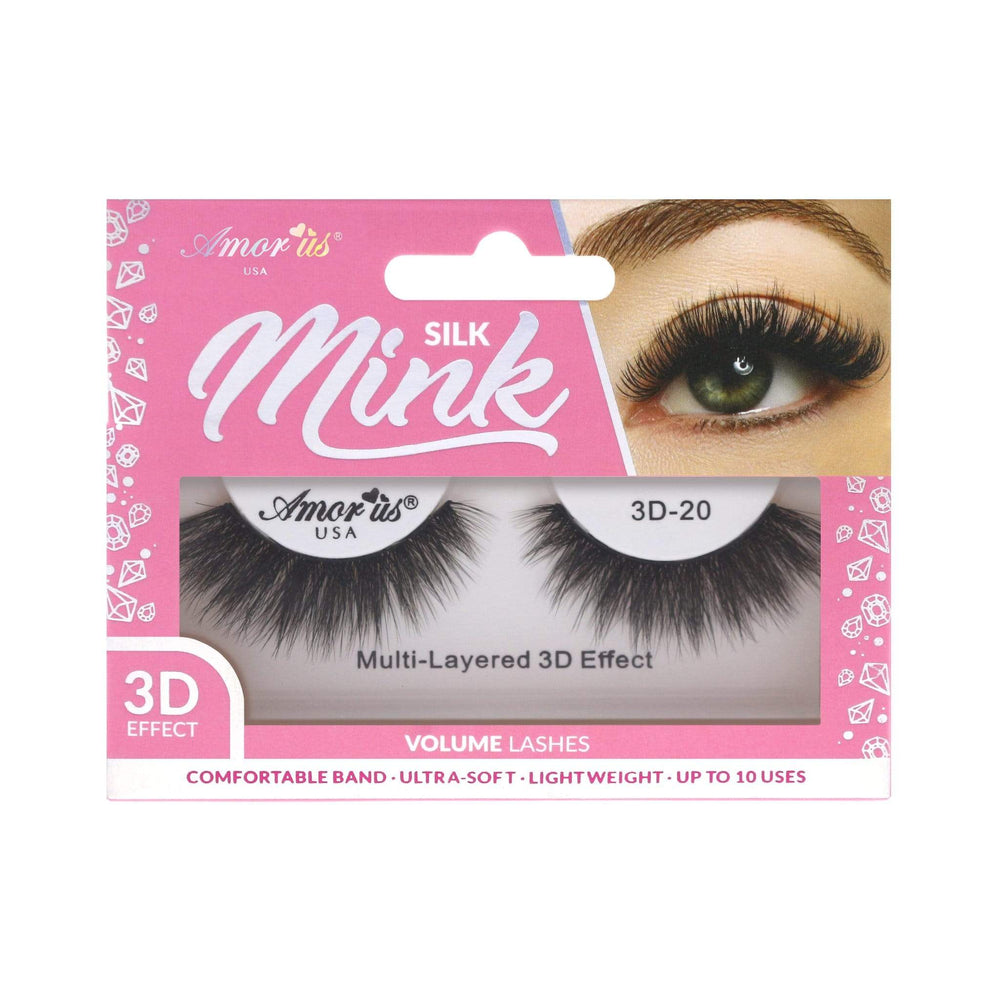 Load image into Gallery viewer, 20 - 3D Silk Mink Lashes