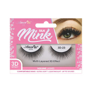Load image into Gallery viewer, 23 - 3D Silk Mink Lashes