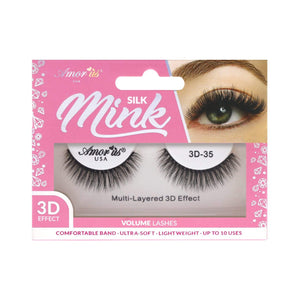 Load image into Gallery viewer, 35 - 3D Silk Mink Lashes