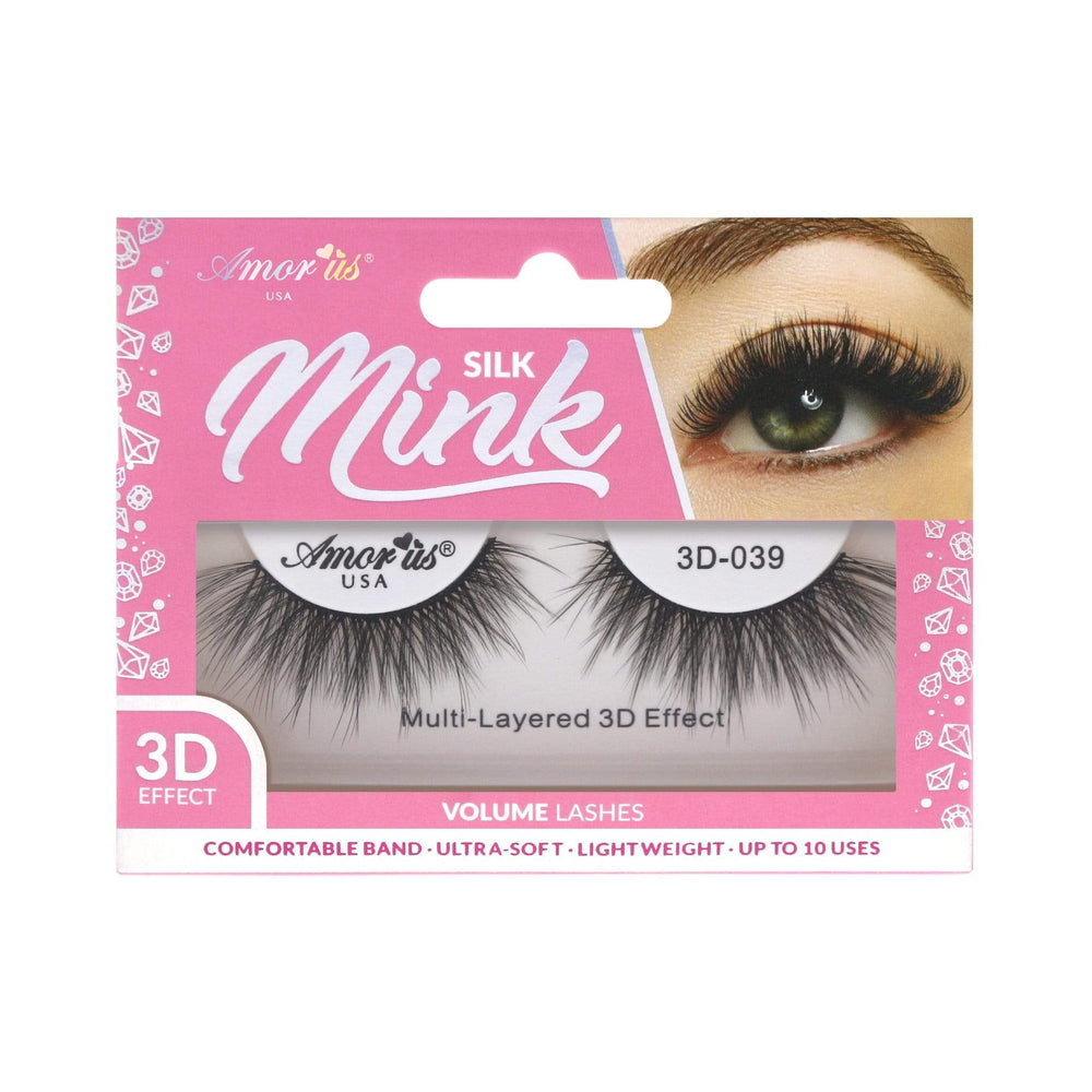 Load image into Gallery viewer, 39 - 3D Silk Mink Lashes