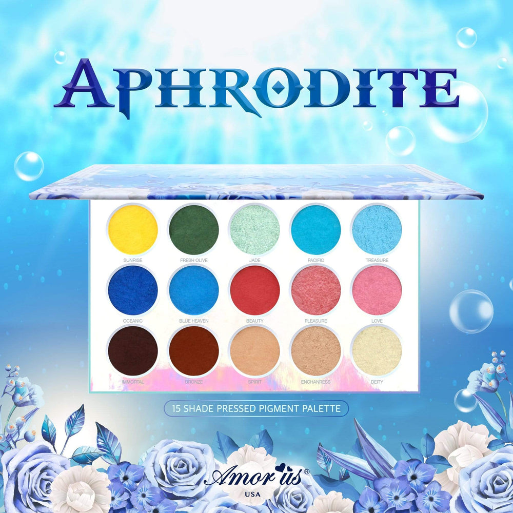 Load image into Gallery viewer, Aphrodite - Eyeshadow Pressed Pigment Palette