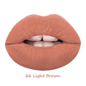Load image into Gallery viewer, Light Brown - 24 Hour Matte Liquid Lipstick