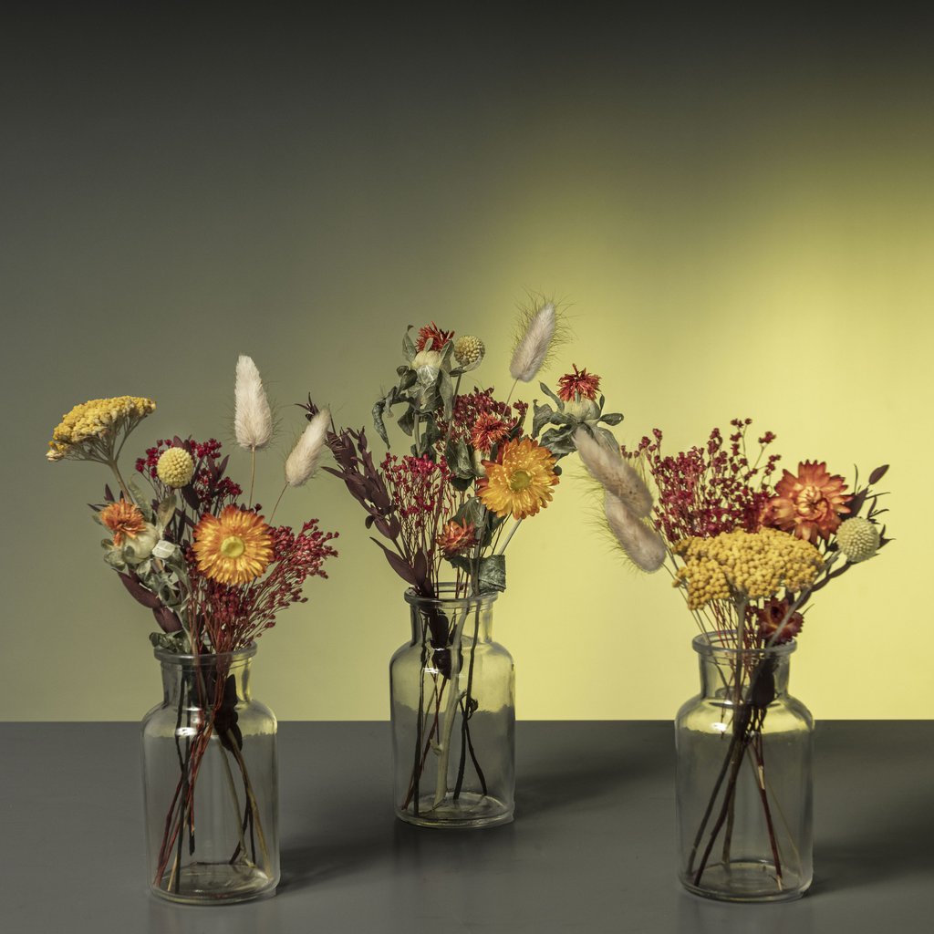 Down To Earth and Versatile Assortment of dried blooms