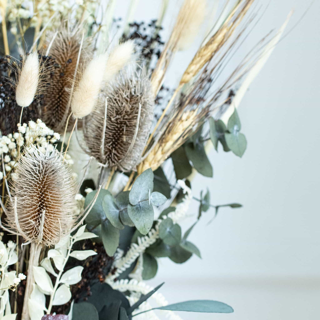 Dried Flower Bouquet (Detailed View of stems)