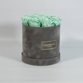 Green Roses in a Rose Box