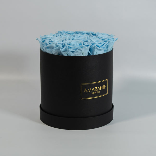 Medium Round Hat Box - Black Box