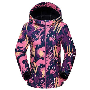 Winter Waterproof Thermal Camouflage Outdoor Sports Jacket