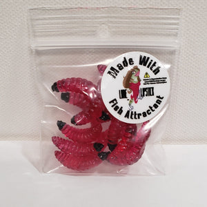 Infused Wax Worms 12 Pack Red Devil